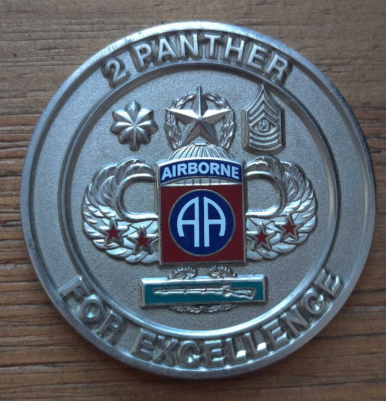 Major Adam Chappell's Unit Medallion Image